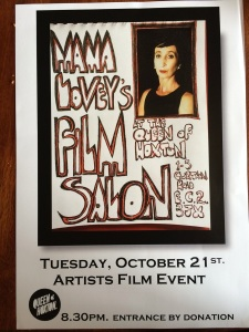 Mama Lovey's Film Salon, 21 October 2014